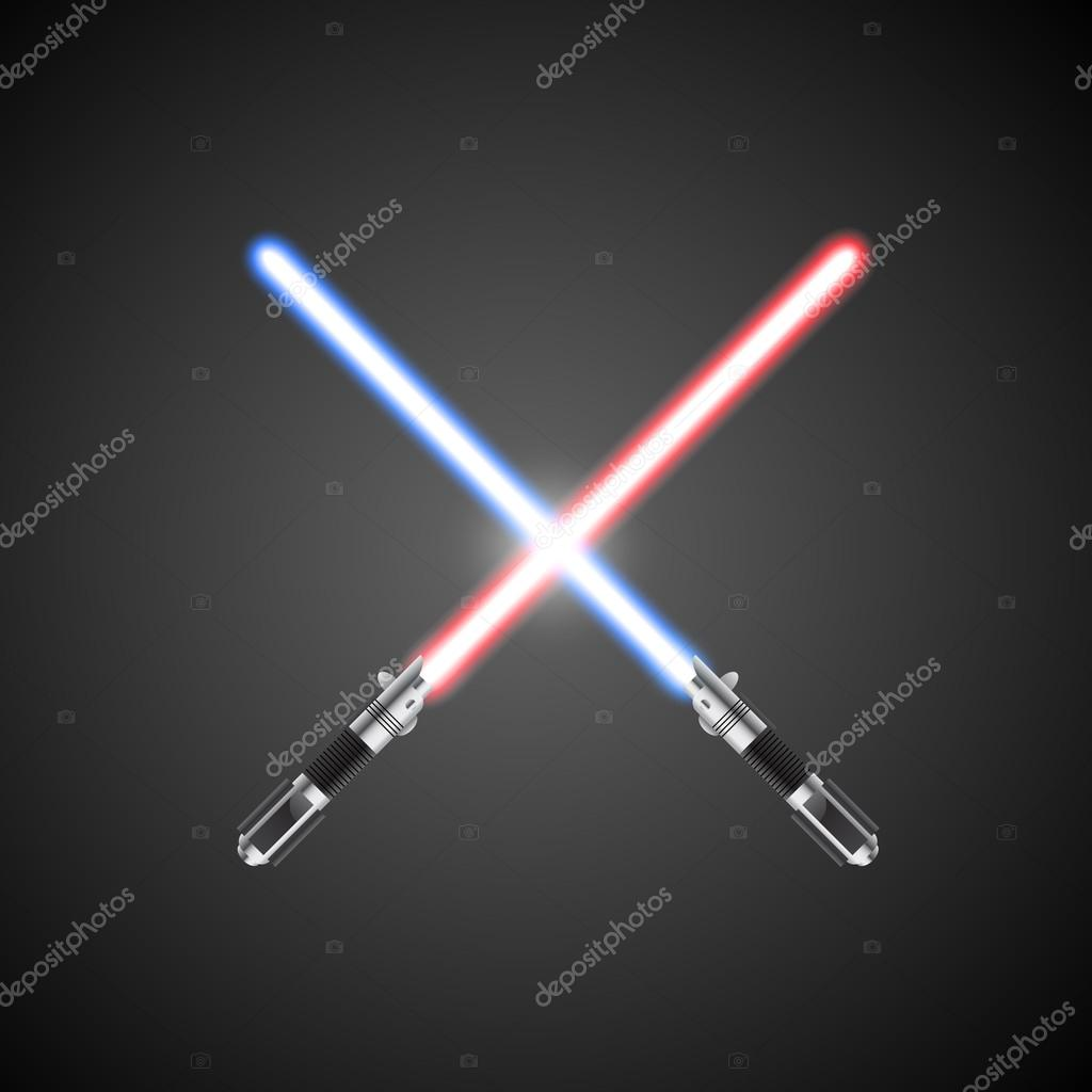 Crossed Lightsabers Light Crossed Lightsabers