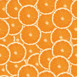 Seamless orange slices background — Stock Vector #20275895