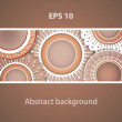 Abstract vector background. - Vettoriali Stock