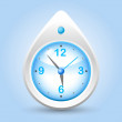 Clock button — Image vectorielle