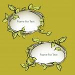 Vector floral frames — Stock Vector #21124133
