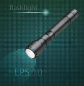 Ilustração em vetor de lanterna — Vetor de Stock