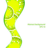 Vector abstract spring background — Stock Vector