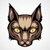 Głowa kota — Wektor stockowy