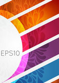 Banner de eps — Vector de stock