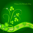 Royalty-Free Stock Vector Image: St. Patrick\'s Day Greeting Card