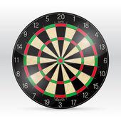 Vektor dart board — Stockvektor