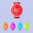 Best choice labels. — Stock Vector