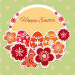 Easter greeting card. — Stockvektor