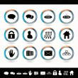 Web icons. — Stock Vector #22326811
