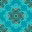 Seamless wallpaper pattern — Stockvectorbeeld