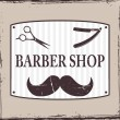 Barber Shop or Hairdresser icons — Stock Vector #22625729