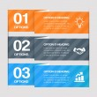 Step By Step Web Elements — Vector de stock #22625761