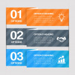 Step By Step Web Elements — Vettoriale Stock #22625761
