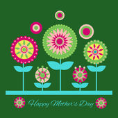 Happy mother day background. — Stock Vector