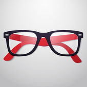 Retro vector glasses — Stock Vector