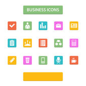 Vector business icons — Stock Vector