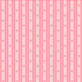Valentine seamless hearts pattern — Vecteur