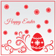 Happy Easter Greeting Card.  — Stock Vector