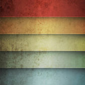 Rainbow horizontal lines vintage background — Stockvector