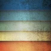 Rainbow horizontal lines vintage background — Stock Vector