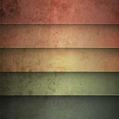 Rainbow horizontal lines vintage background — Stock Vector