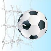 Piłka piłka nożna wektor — Wektor stockowy