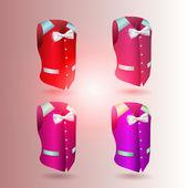 Vector waistcoat — Stock Vector