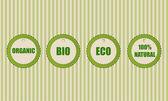 Eco vector icons — Stock Vector