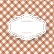 Stock Vector: Vintage frame template.