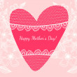 Stock Vector: Happy mother day background