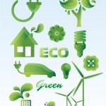 Ecology icon set. — Stock Vector #23207198