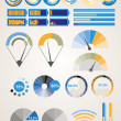 vector infographic elements. — Stock Vector