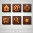 Web icons. — Stock Vector #23209382