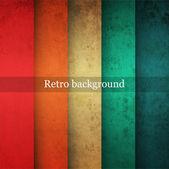Vintage gestreepte achtergrond — Stockvector