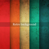 Vintage striped background — Vector de stock