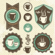 Vintage Retro Coffee stamp — Stock Vector #23983673