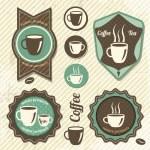 Vintage Retro Coffee stamp — Stock Vector #23983673