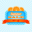 Summer Sale Icon. — Stock Vector