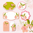 Vector floral background — Stock Vector #23985971