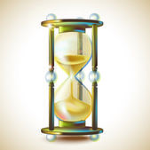 Hourglass. — Stock Vector