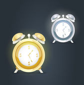 Alarm clocks — Stock Vector