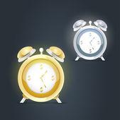 Alarm clocks — Stockvektor