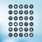Vector Icon set. — Stock Vector