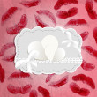 Royalty-Free Stock Imagen vectorial: Lips prints