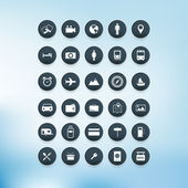 Vector Icon set. — Stock Vector