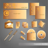 Selected Corporate Templates. — Stock Vector