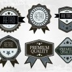 Vintage Styled Premium Quality — Stock Vector