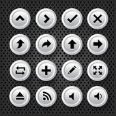 Pijlen icons set — Stockvector