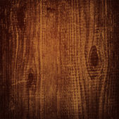 Natural dark wooden background — Vetor de Stock